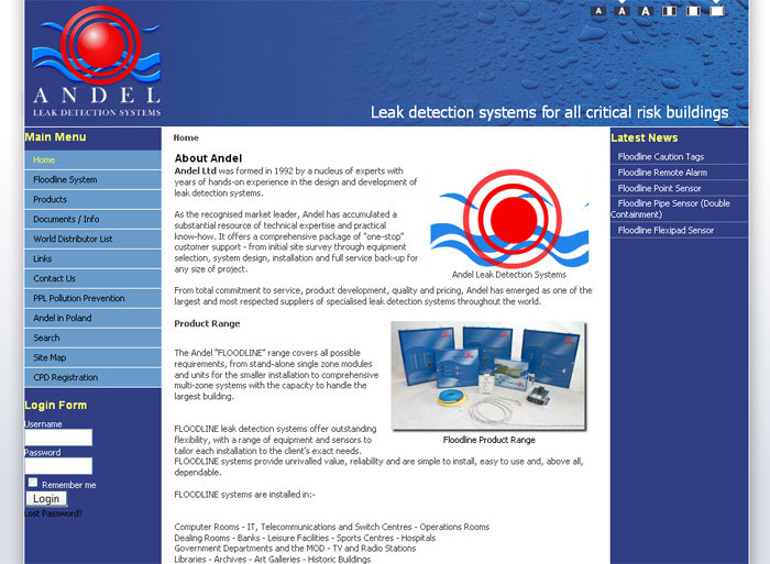 Andel Leak Detection Systems