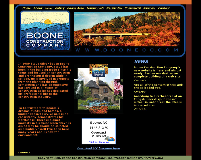 Boone Construction Company